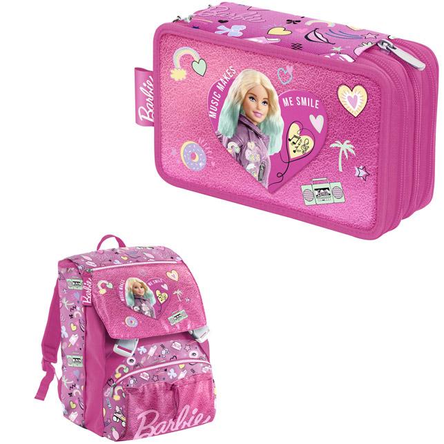 Astuccio zaino Barbie